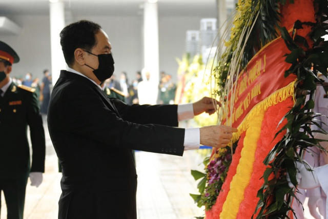 Lễ viếng nguyên Tổng Bí thư Lê Khả Phiêu - 12