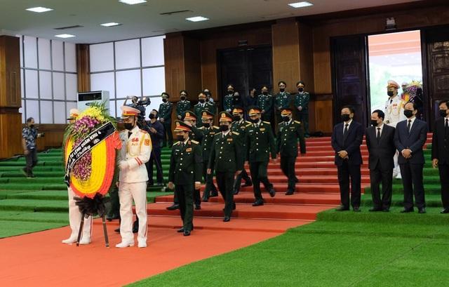 Lễ viếng nguyên Tổng Bí thư Lê Khả Phiêu - 19