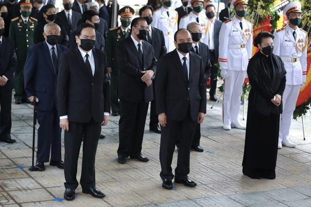 Lễ viếng nguyên Tổng Bí thư Lê Khả Phiêu - 2