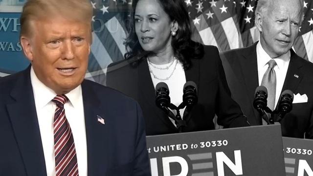 Ông Trump nói về nghi vấn nữ tướng của Biden không đủ điều kiện tranh cử - 1