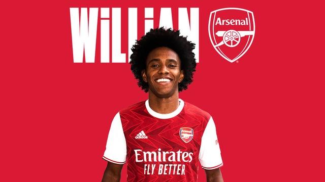 Rời Chelsea, Willian chính thức gia nhập Arsenal - 1