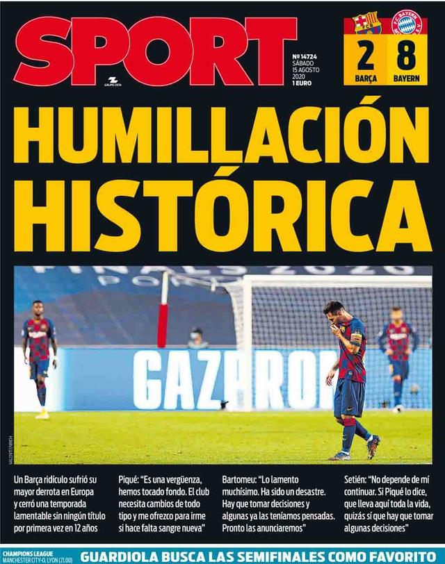 """Báo chí thế giới kinh hoàng, gọi Barcelona là """"nỗi ô nhục"""" - 2"""