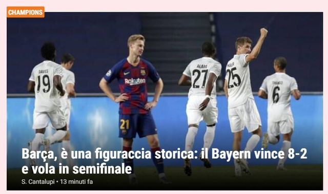 """Báo chí thế giới kinh hoàng, gọi Barcelona là """"nỗi ô nhục"""" - 11"""
