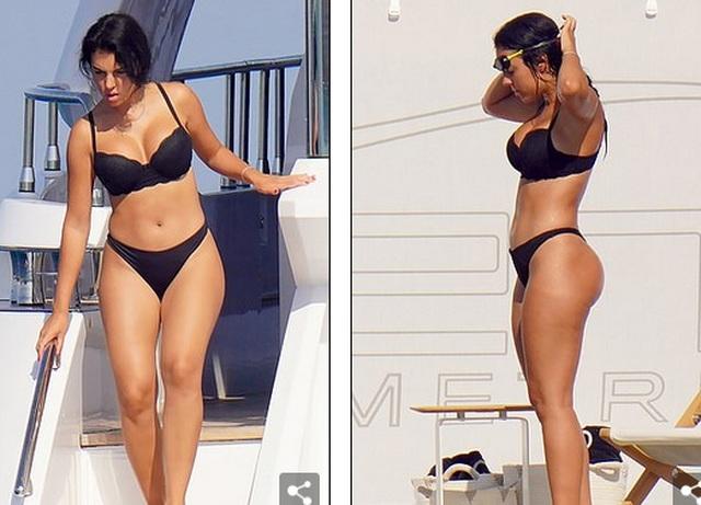Bạn gái Ronaldo bốc lửa trên du thuyền - 9