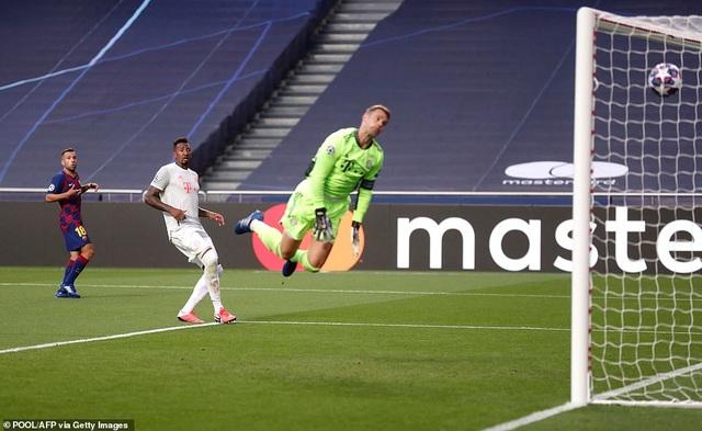 """""""Hủy diệt"""" Barcelona 8-2, Bayern Munich hiên ngang vào bán kết - 5"""