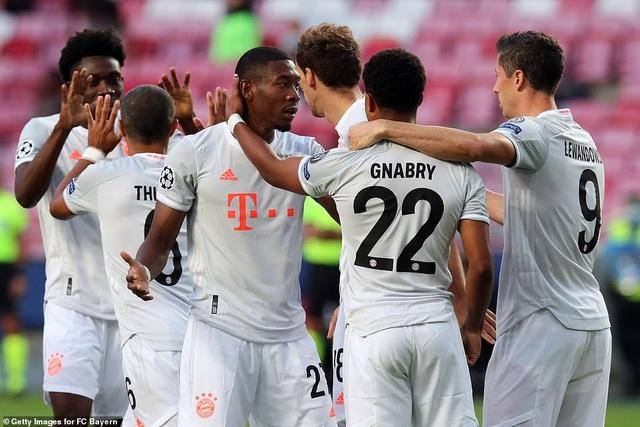 """""""Hủy diệt"""" Barcelona 8-2, Bayern Munich hiên ngang vào bán kết - 15"""