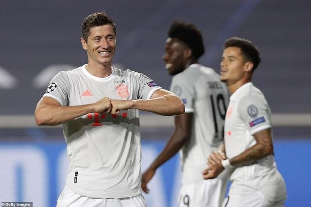 """""""Hủy diệt"""" Barcelona 8-2, Bayern Munich hiên ngang vào bán kết - 9"""