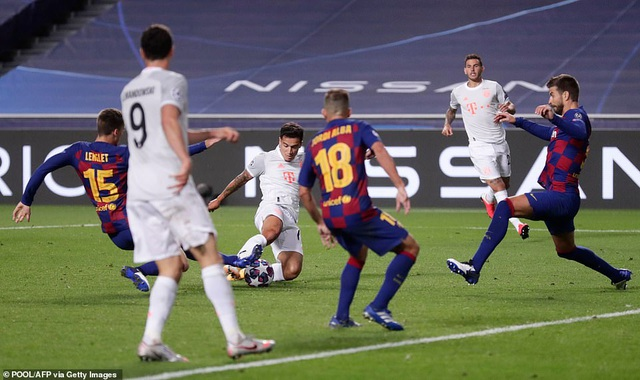 """""""Hủy diệt"""" Barcelona 8-2, Bayern Munich hiên ngang vào bán kết - 3"""