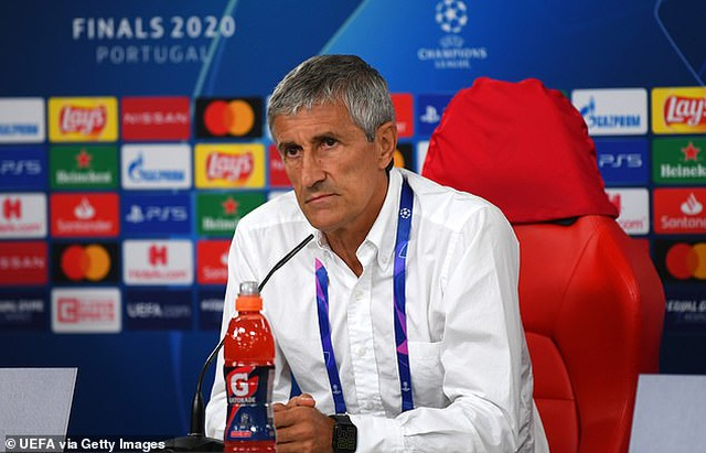 Thua đậm Bayern Munich 2-8, HLV Barcelona thừa nhận sắp bị sa thải - 1