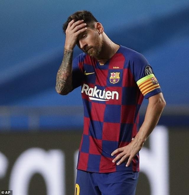 """Messi chết lặng trong ngày Bayern Munich """"hủy diệt"""" Barcelona - 3"""