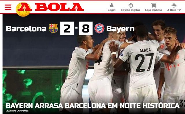 """Báo chí thế giới kinh hoàng, gọi Barcelona là """"nỗi ô nhục"""" - 7"""