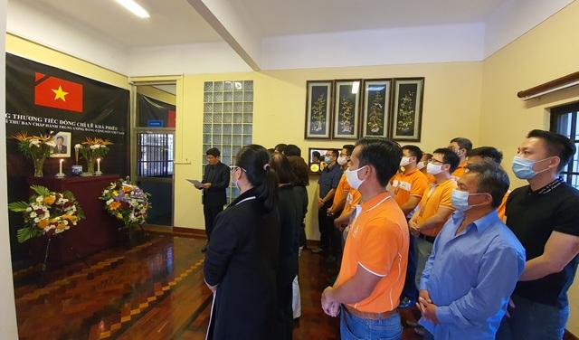 Lễ viếng và mở sổ tang nguyên Tổng Bí thư Lê Khả Phiêu tại Mozambique - 1