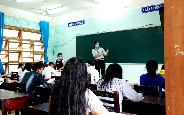 Quảng Nam sẽ tuyển dụng 1.783 giáo viên bằng hình thức thi tuyển - 1
