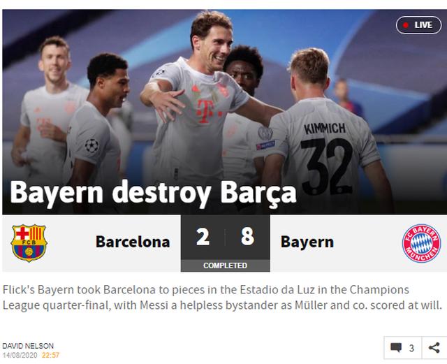 """Báo chí thế giới kinh hoàng, gọi Barcelona là """"nỗi ô nhục"""" - 4"""