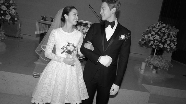 Những cô dâu đẹp và quyến rũ nhất làng giải trí xứ Hàn - 9