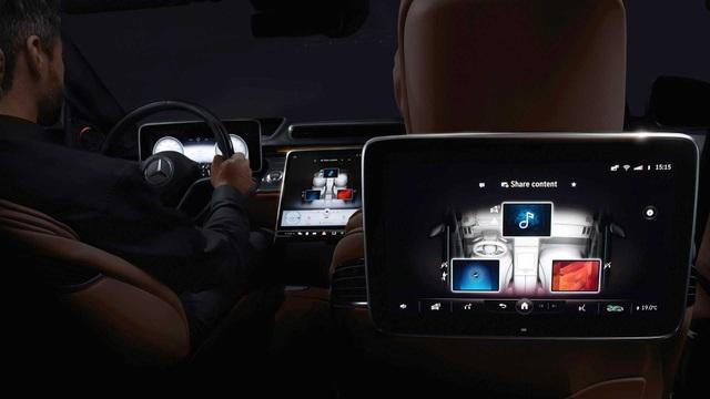 Soi chi tiết nội thất Mercedes S-Class thế hệ mới - 8