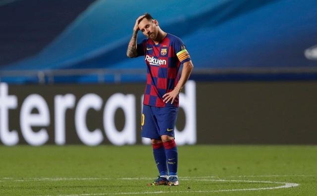 """Messi chết lặng trong ngày Bayern Munich """"hủy diệt"""" Barcelona - 2"""