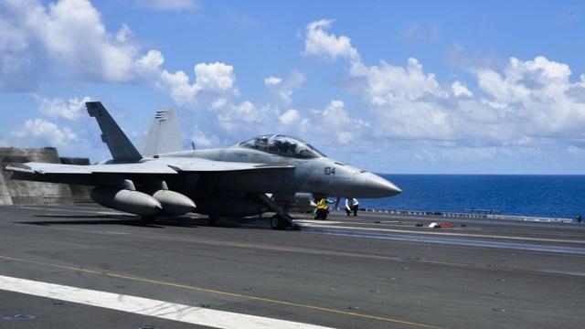 Nhóm tàu sân bay Mỹ diễn tập tại Biển Đông - 2