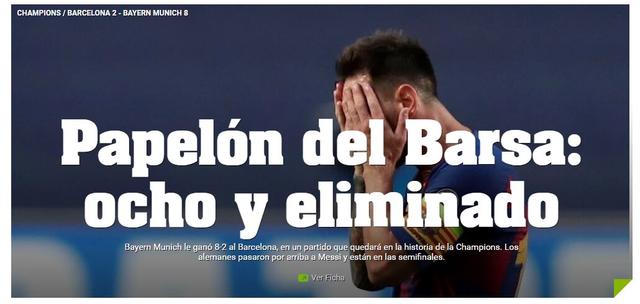 """Báo chí thế giới kinh hoàng, gọi Barcelona là """"nỗi ô nhục"""" - 10"""