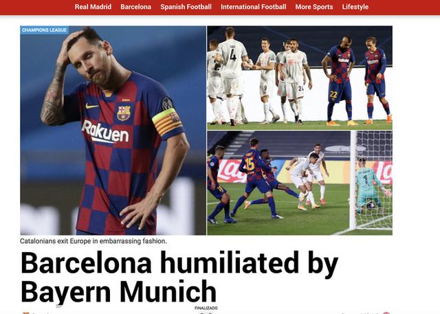 """Báo chí thế giới kinh hoàng, gọi Barcelona là """"nỗi ô nhục"""" - 3"""
