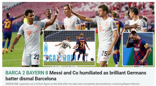 """Báo chí thế giới kinh hoàng, gọi Barcelona là """"nỗi ô nhục"""" - 9"""