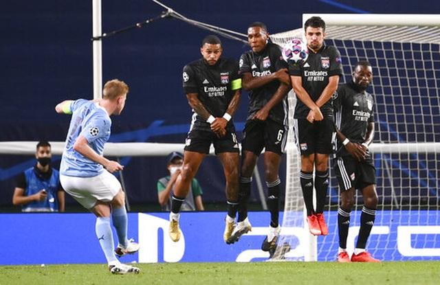"""""""Kép phụ"""" Dembele tỏa sáng giúp Lyon hạ gục Man City - 6"""