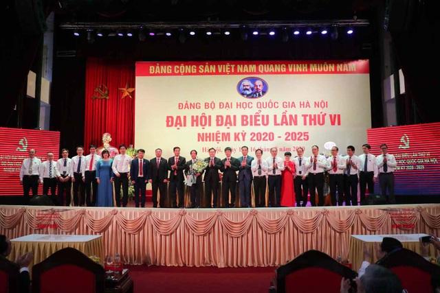 PGS.TS Nguyễn Kim Sơn tái đắc cử Bí thư Đảng bộ Đại học Quốc gia Hà Nội - 2