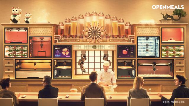 Nhà hàng Tokyo phục vụ sushi 3D theo nhu cầu sức khỏe khách hàng - 2