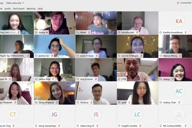 Singapore: Vì Covid-19, chương trình chào tân sinh viên diễn ra trên mạng - 1