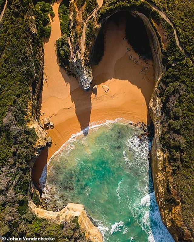 Việt Nam trong vẻ đẹp thế giới nhìn từ trên cao - 17