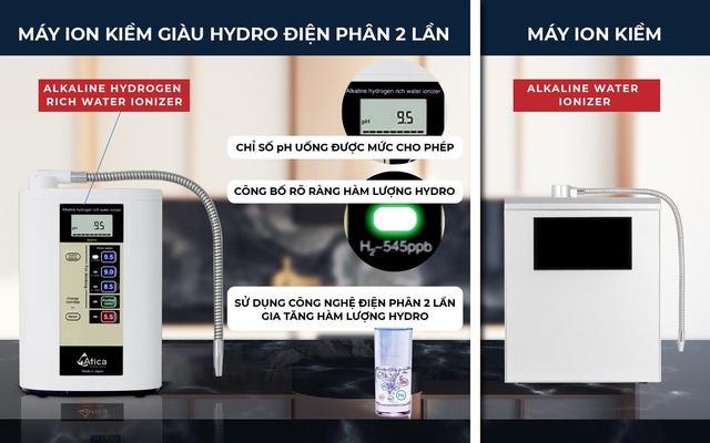 Đắt hàng máy lọc nước ion kiềm giàu hydro điện phân 2 lần mùa Covid - 3