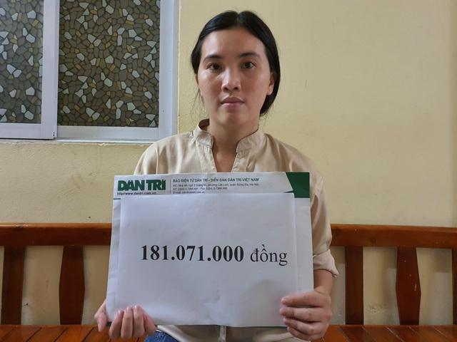 Bạn đọc Dân trí giúp đỡ bé gái mắc đa dị tật hơn 240 triệu đồng - 1