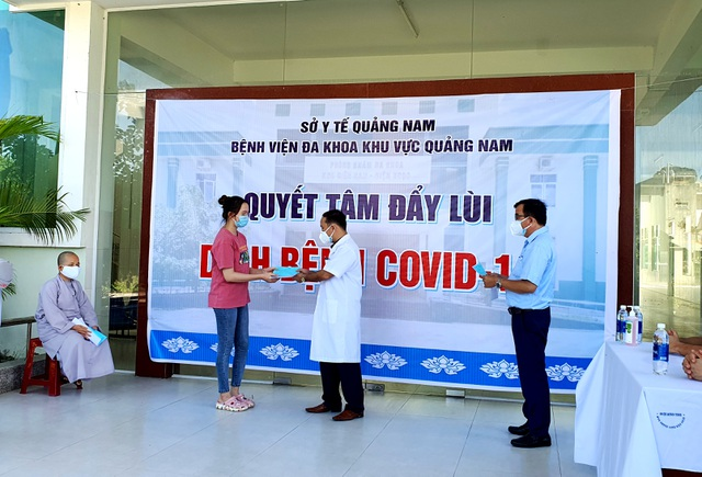 11 bệnh nhân Covid-19 ở Quảng Nam được ra viện - 1