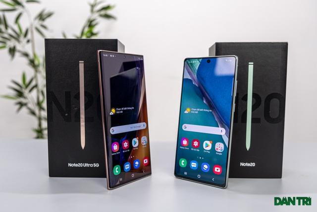 Mở hộp Galaxy Note 20 sắp mở bán: cấu hình mạnh, hoàn thiện cao cấp - 1
