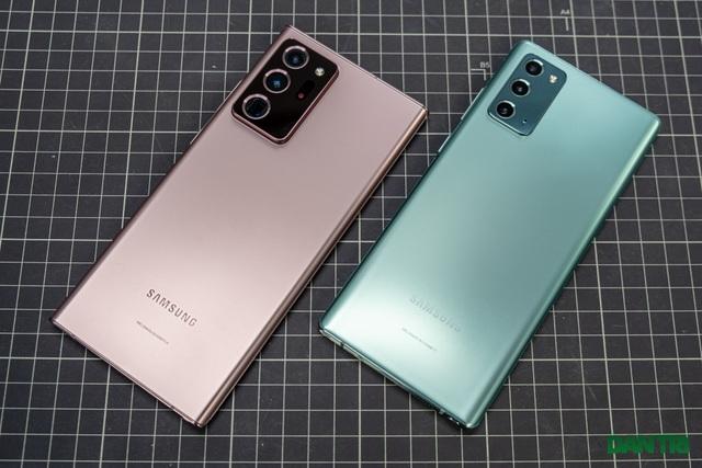 Mở hộp Galaxy Note 20 sắp mở bán: cấu hình mạnh, hoàn thiện cao cấp - 12