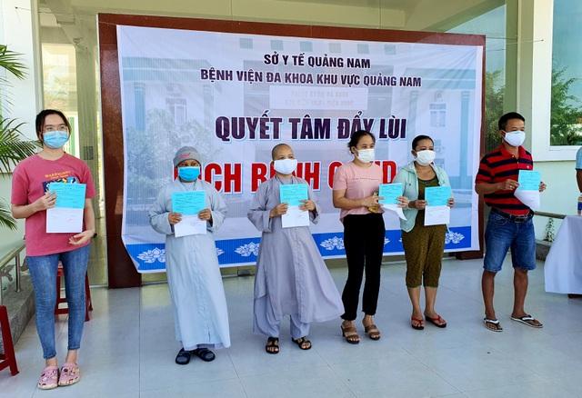 11 bệnh nhân Covid-19 ở Quảng Nam được ra viện - 2