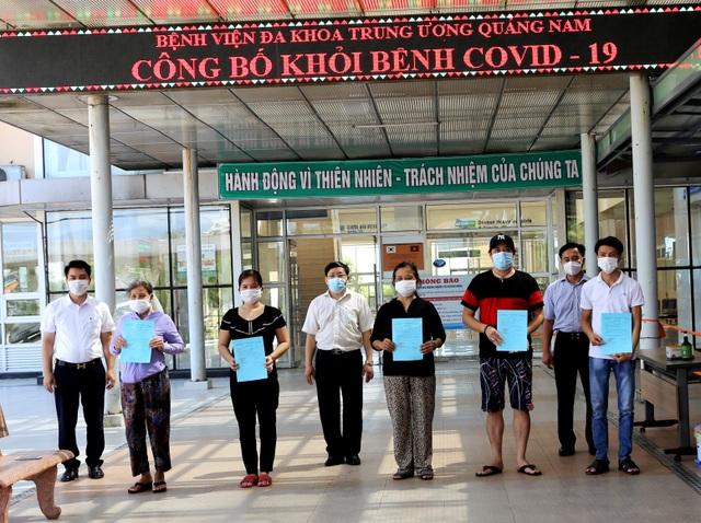 11 bệnh nhân Covid-19 ở Quảng Nam được ra viện - 3