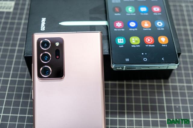 Mở hộp Galaxy Note 20 sắp mở bán: cấu hình mạnh, hoàn thiện cao cấp - 8