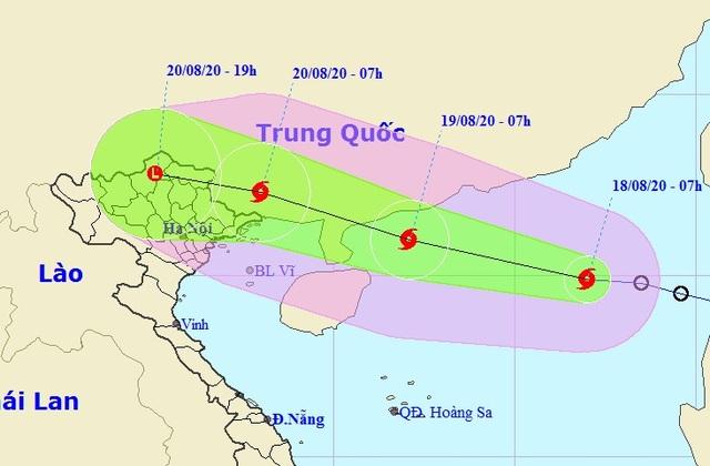 Hình thành bão số 4 trên Biển Đông - 1