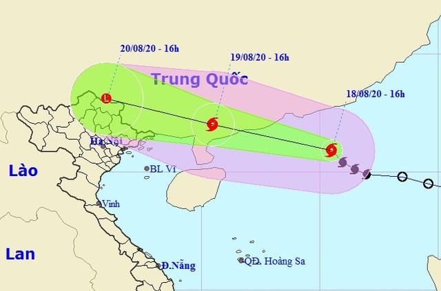 Bão số 4 khả năng đi vào đất liền tỉnh Quảng Đông - Trung Quốc - 1