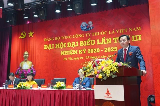 Tổ chức thành công Đại hội Đảng bộ Tổng công ty thuốc lá Việt Nam - 1