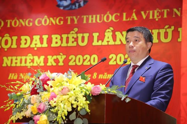 Tổ chức thành công Đại hội Đảng bộ Tổng công ty thuốc lá Việt Nam - 2