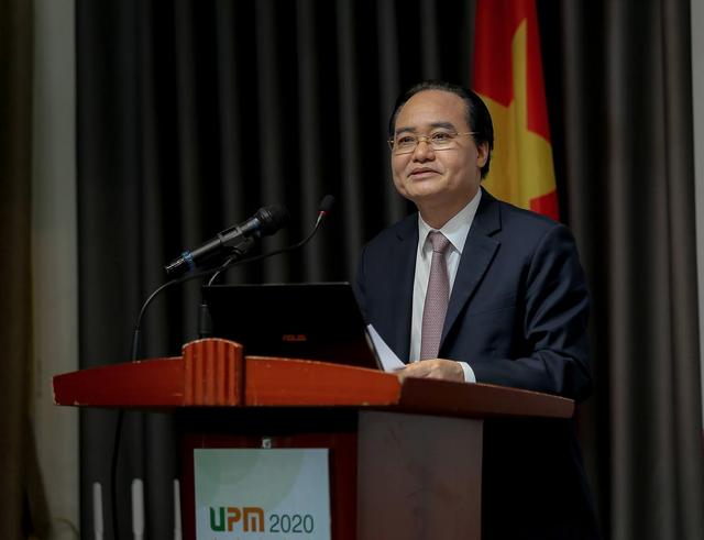 Bộ trưởng Nhạ khuyến khích trường đại học áp dụng chỉ số UPM để xếp hạng - 1