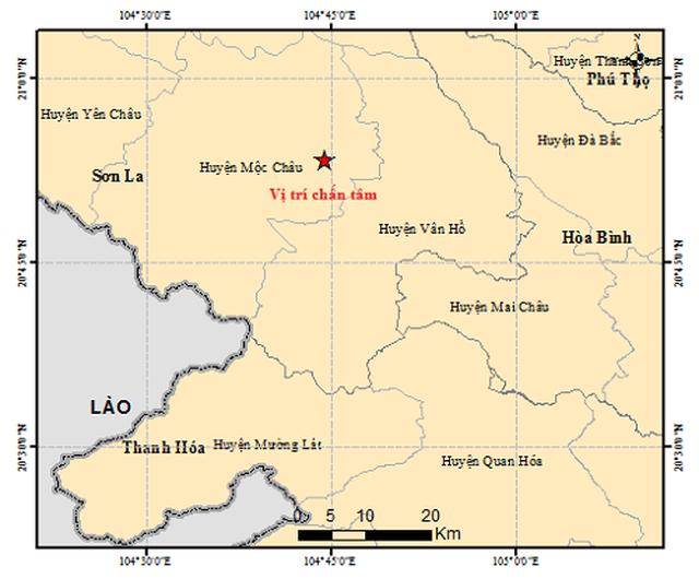 Sau hơn 20 ngày xảy ra động đất, dư chấn vẫn tiếp tục xuất hiện ở Sơn La - 1