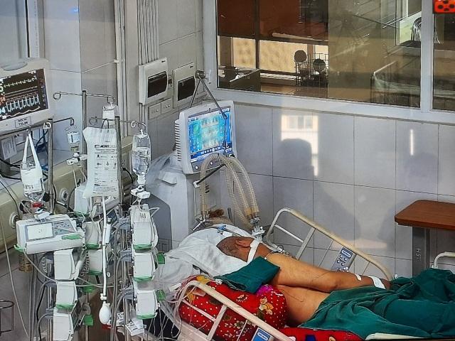 Ca Covid-19 tại Bắc Giang diễn biến xấu, phải thở máy 100% - 2