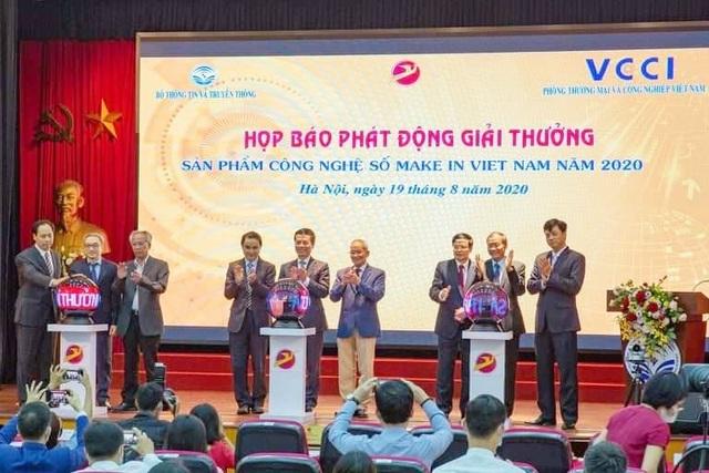 Bộ TTTT phát động giải thưởng Sản phẩm công nghệ số Make in Vietnam 2020 - 2