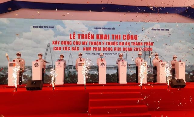 Triển khai thi công cầu Mỹ Thuận 2 hơn 5.000 tỷ đồng - 1