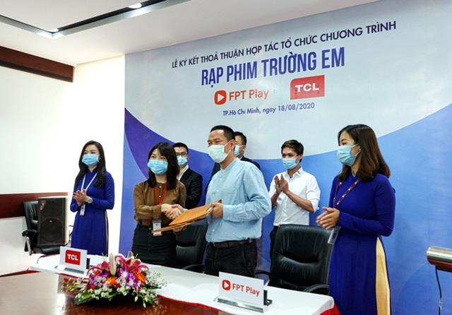 """FPT Play và TCL Vietnam khởi động """"Rạp Phim Trường Em"""" mùa 2 - 1"""