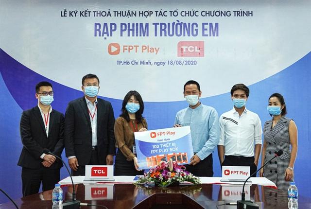 """FPT Play và TCL Vietnam khởi động """"Rạp Phim Trường Em"""" mùa 2 - 2"""
