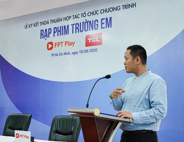 """FPT Play và TCL Vietnam khởi động """"Rạp Phim Trường Em"""" mùa 2 - 3"""